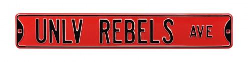 UNLV Rebels NCAA Embossed Street Sign