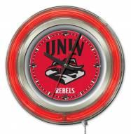 UNLV Rebels Neon Clock