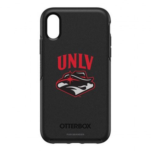 UNLV Rebels OtterBox iPhone XR Symmetry Black Case