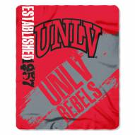 UNLV Rebels Painted Fleece Blanket