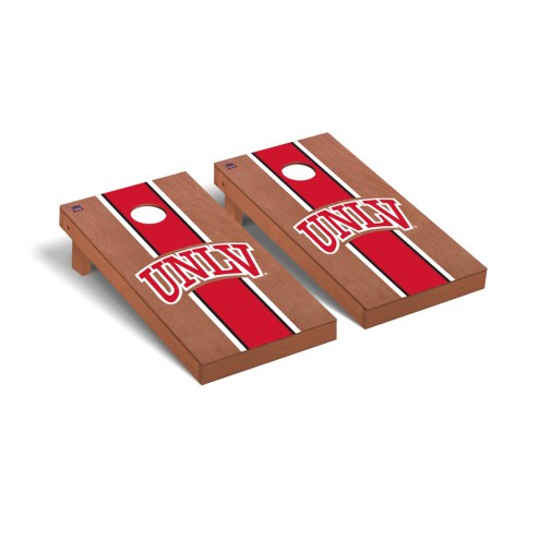UNLV Rebels Rosewood Stained Cornhole Game Set