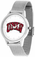 UNLV Rebels Silver Mesh Statement Watch