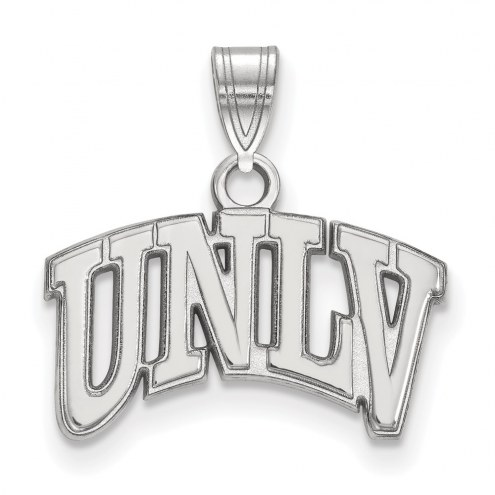 UNLV Rebels Sterling Silver Small Pendant