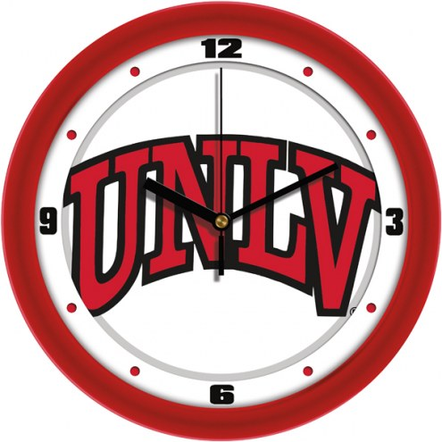 UNLV Rebels Traditional Wall Clock