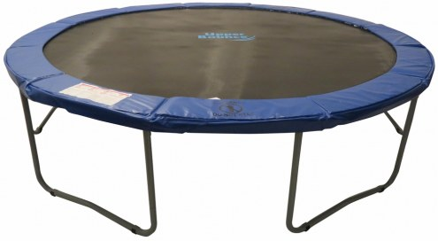Upper Bounce 12 FT. Round Trampoline With Blue Safety Pad