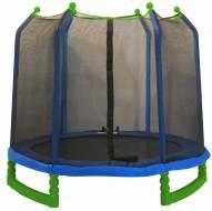 """Upper Bounce 7' Indoor/Outdoor  """"Classic"""" Trampoline & Enclosure Set"""