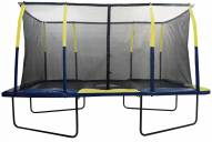 Upper Bounce Easy Assemble Mega 9? X 15? Rectangular Trampoline with Enclosure System