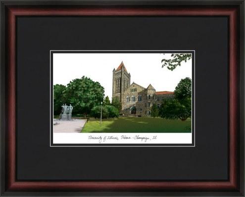 University of Illinois Urbana-Champaign Academic Framed Lithograph