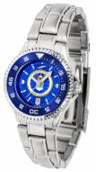 Air Force Falcons Competitor Steel AnoChrome Women's Watch - Color Bezel