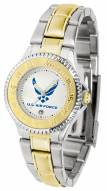 Air Force Falcons Competitor Two-Tone Women's Watch