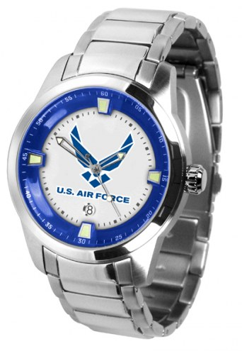 Air Force Falcons Titan Steel Men's Watch