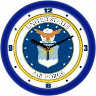 Air Force Falcons Traditional Wall Clock