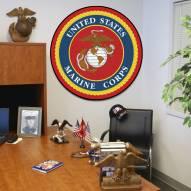 "U.S. Marine Corps 44"" Round Area Rug"