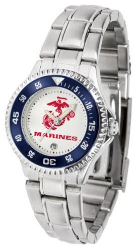 U.S. Marine Corps Competitor Steel Women's Watch