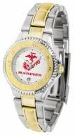 U.S. Marine Corps Competitor Two-Tone Women's Watch