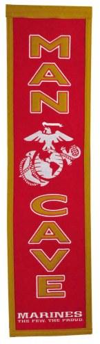 U.S. Marine Corps Man Cave Banner