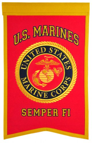 U.S. Marine Corps Nations Banner