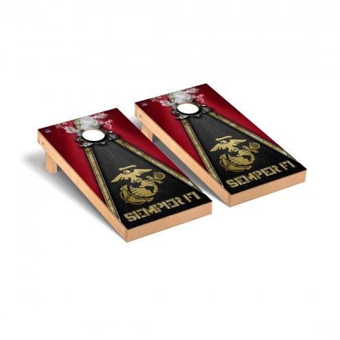 U.S. Marine Corps Semper Fi Gold Cornhole Game Set