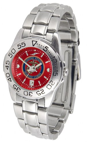 U.S. Marine Corps Sport Steel AnoChrome Women's Watch