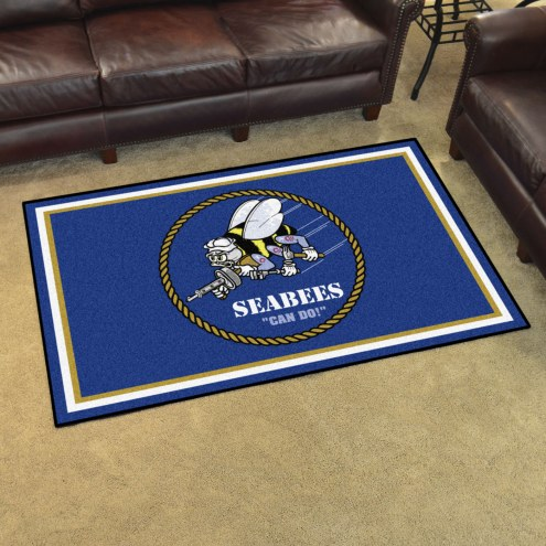U.S. Navy Midshipmen 4' x 6' Area Rug