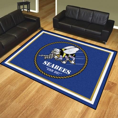 U.S. Navy Midshipmen 8' x 10' Area Rug