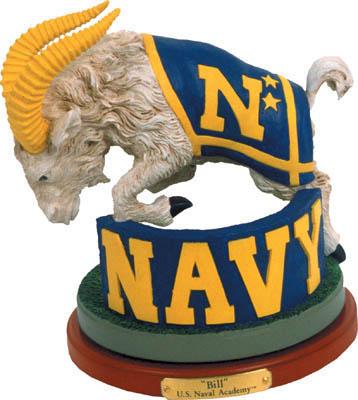 U.S. Navy Collectible Mascot Figurine