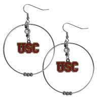 """USC Trojans 2"""" Hoop Earrings"""