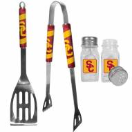 USC Trojans 2 Piece BBQ Set with Salt & Pepper Shakers