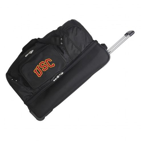 "USC Trojans 27"" Drop Bottom Wheeled Duffle Bag"
