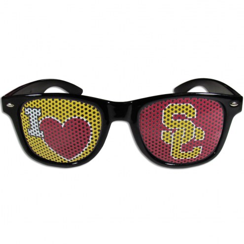 USC Trojans Black I Heart Game Day Shades