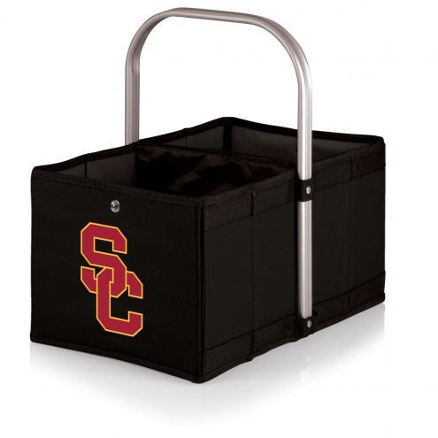 USC Trojans Black Urban Picnic Basket