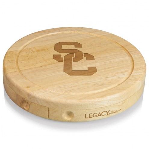 USC Trojans Brie Cheese Board