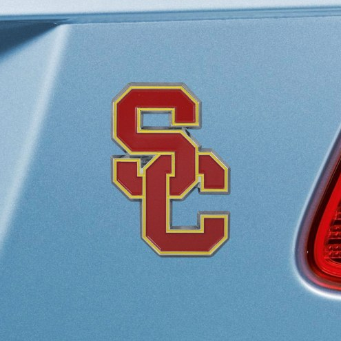 USC Trojans Color Car Emblem
