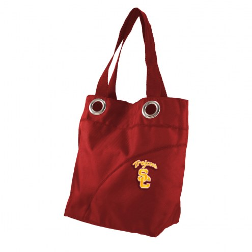 USC Trojans Color Sheen Tote Bag