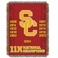 USC Trojans Commemorative Champs Throw Blanket