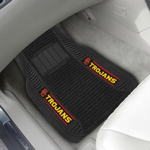 USC Trojans Deluxe Car Floor Mat Set