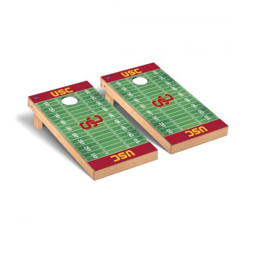 USC Trojans Football Field Cornhole Game Set