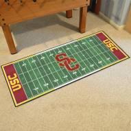 USC Trojans Football Field Runner Rug