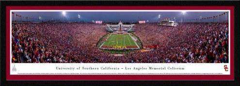 USC Trojans Framed Stadium Print