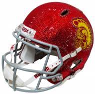 USC Trojans Full Size Swarovski Crystal Football Helmet