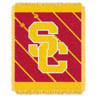 USC Trojans Fullback Baby Blanket