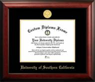 USC Trojans Gold Embossed Diploma Frame