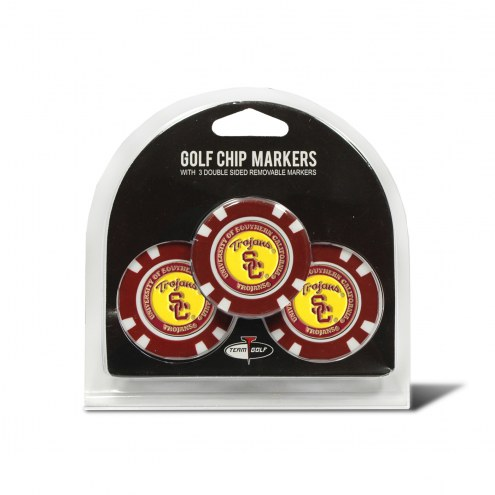 USC Trojans Golf Chip Ball Markers