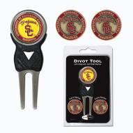 USC Trojans Golf Divot Tool Pack
