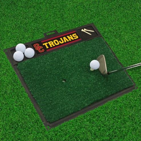 USC Trojans Golf Hitting Mat