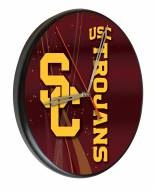 USC Trojans Digitally Printed Wood Clock