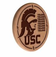 USC Trojans Laser Engraved Wood Sign