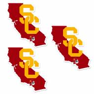 USC Trojans Home State Decal - 3 Pack