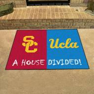 USC Trojans/UCLA Bruins House Divided Mat