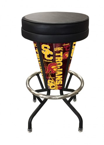 USC Trojans Indoor/Outdoor Lighted Bar Stool